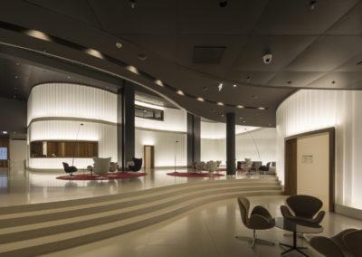 Peter Kulka Architektur Lichtwand Eurotheum