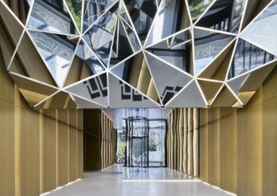 Eike Becker Architekten LED-Lichtinstallation ma/ro