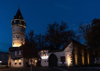 Christian Uitz Illumination Friedberger Warte Südseite