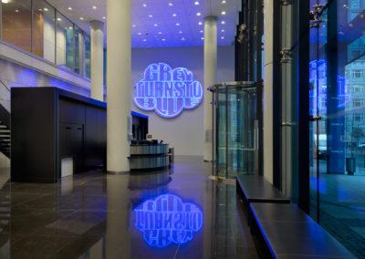 Frankfurt Silke Wager Grey Turns to Blue Helaba
