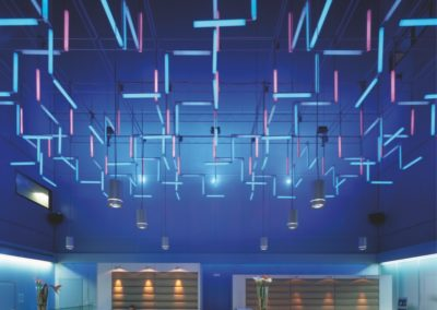 Thomas Emde Lichtinstallation Hotel DoubleTree Niederrad